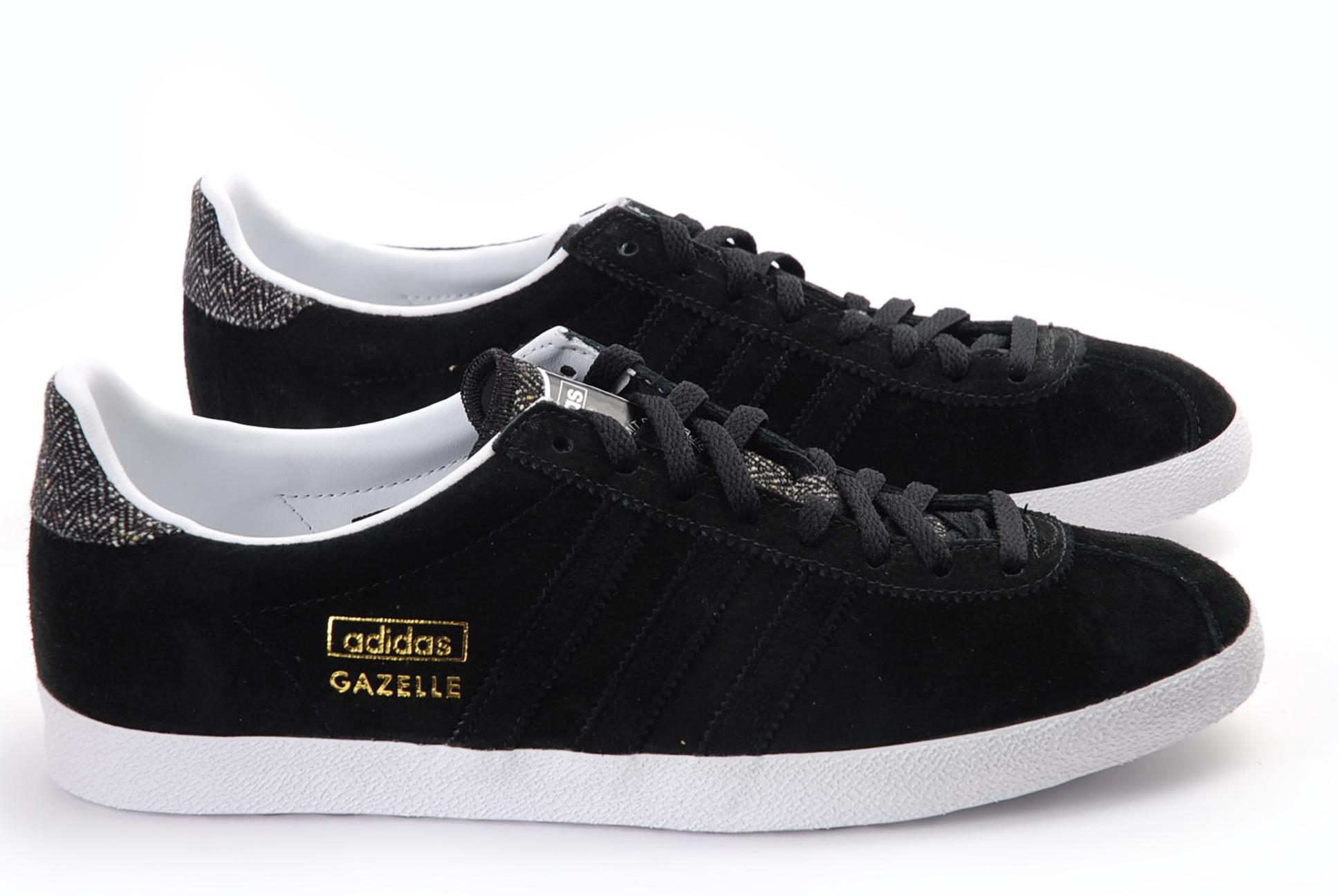 adidas gazelle noir pour femme