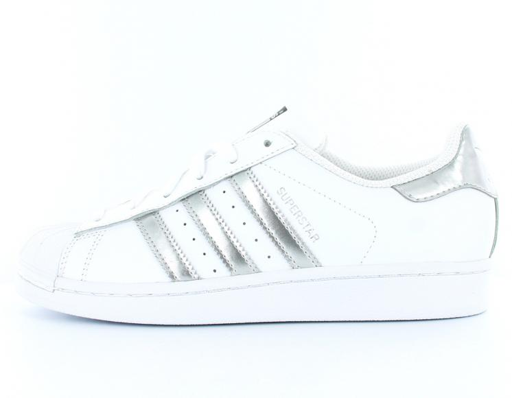 basket adidas superstar femme brillante