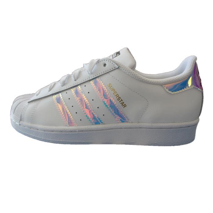 adidas superstar blanche junior