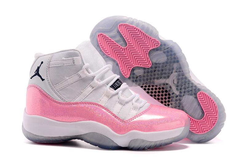 nouveau produit 5b26f 3dcb9 air jordan femme blanche et rose