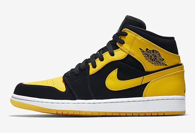 air jordan noir jaune