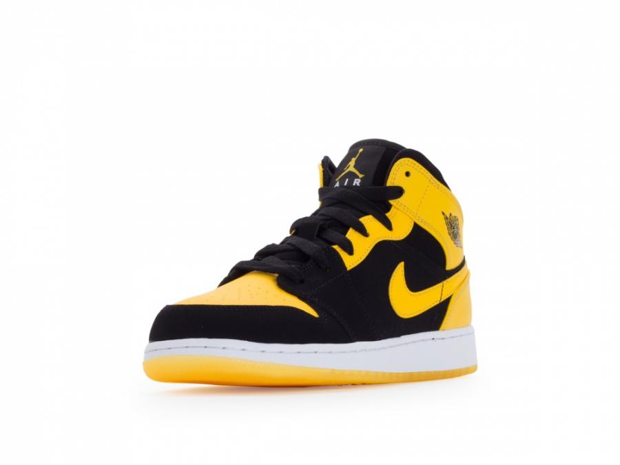 nike air jordan 1 jaune et noir