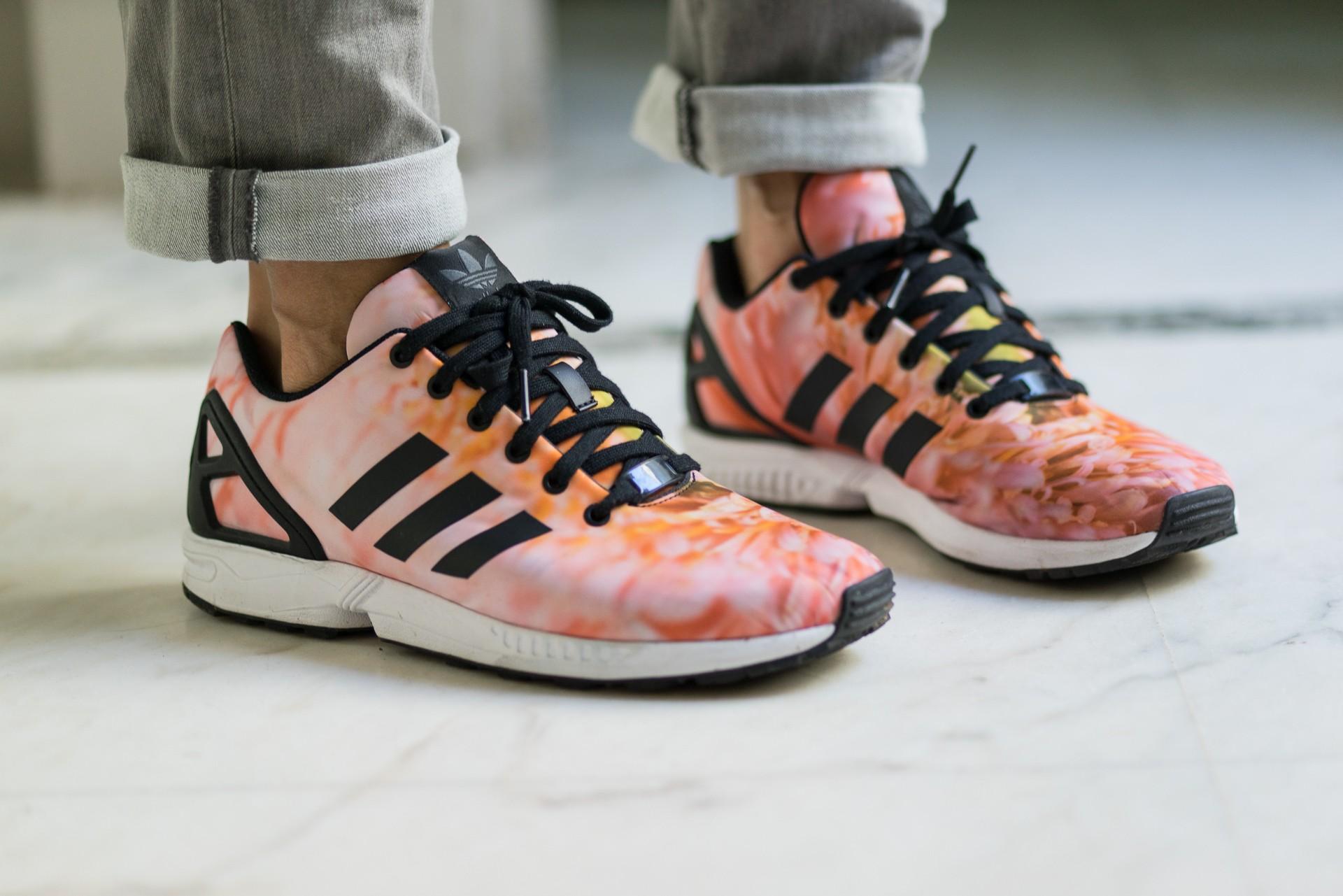 adidas chaussure fleur
