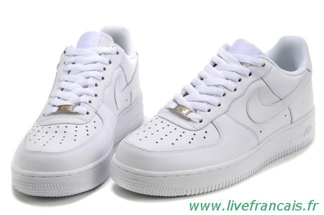 air force one blanche homme promo